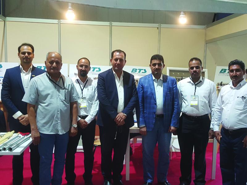 Участвование промышленной группы БТС на 6-ой международной строительной выставке в Багдаде